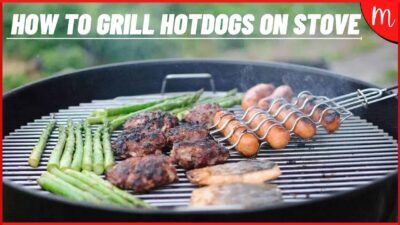 How to Grill Hotdogs on Stove