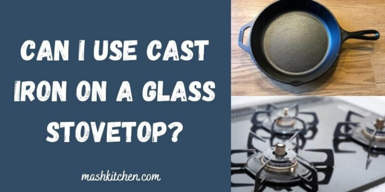 Can I use cast iron on a glass stovetop